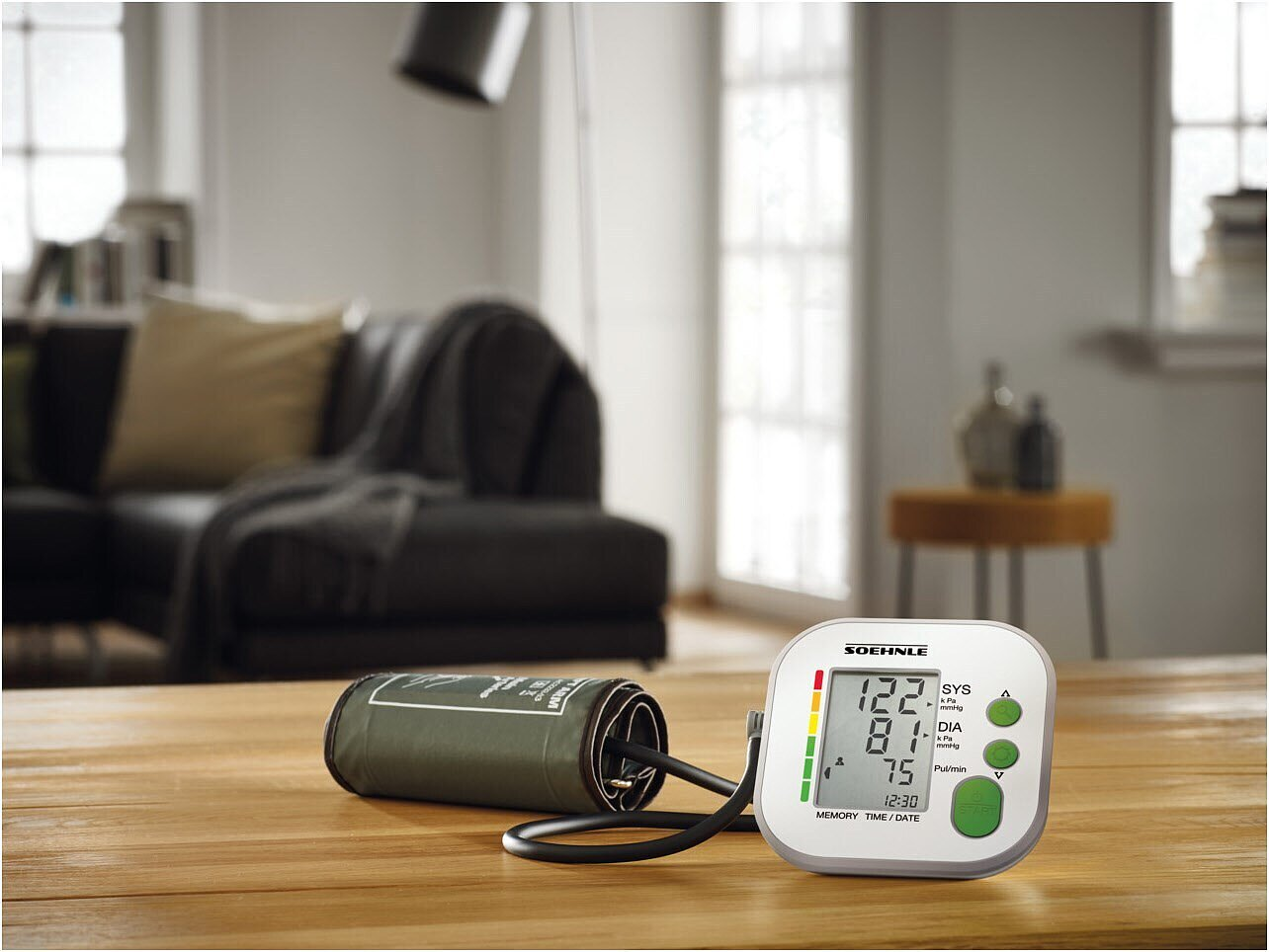 Soehnle 68127 - Systo Monitor 180 weiß Blutdruck..